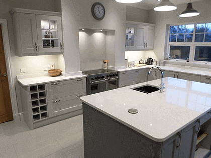modern kitchen fitters wales